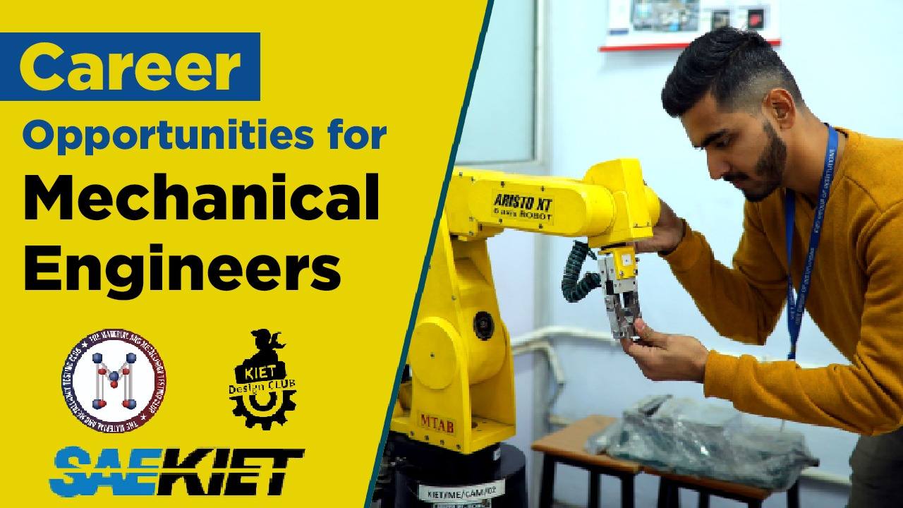 Career Opportunities for Mechanical Engineering Students